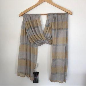 Accessories - Cuccia Violet Del Mar Scarf / Wrap New